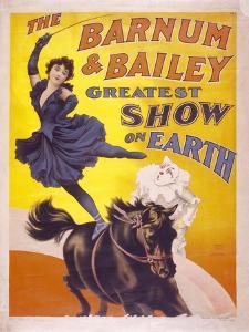 The Barnum & Bailey Greatest Show on Earth, Usa, 1895 by Edward Henry Potthast