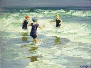 Three of a Kind by Edward Henry Potthast