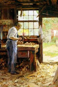 Village Carpenter, 1899 by Edward Henry Potthast