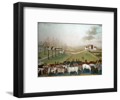 Hicks: Cornell Farm, 1848