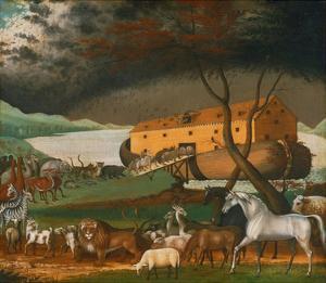 Noah's Ark, 1846 by Edward Hicks