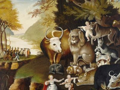Peaceable Kingdom, C.1834 by Edward Hicks