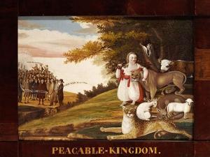 Peaceable Kingdom by Edward Hicks