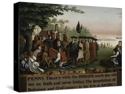 Penn's Treaty with the Indians, 1840-45