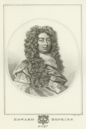 Edward Hopkins, Esquire-Godfrey Kneller-Giclee Print