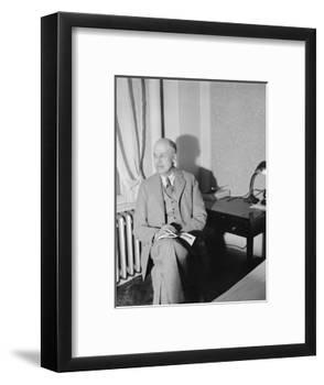 Edward Hopper, c.1937-Harris & Ewing-Framed Photographic Print