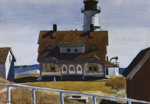 Captain Strout's House by Edward Hopper
