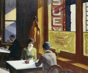 Chop Suey, 1929 by Edward Hopper