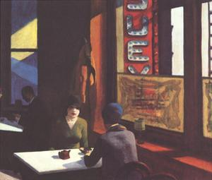 Chop Suey by Edward Hopper