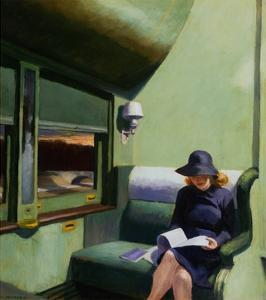 Compartment C, Car 293 by Edward Hopper