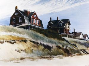Cottages at Wellfleet by Edward Hopper