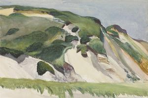 Dune at Truro, 1930 by Edward Hopper