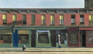 Early Sunday Morning, c.1930 by Edward Hopper