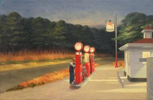 Gas, 1940 by Edward Hopper