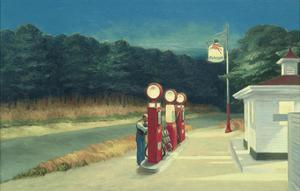 Gas, c.1940 by Edward Hopper
