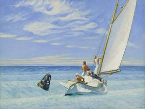 Ground Swell by Edward Hopper
