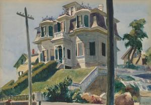 Haskell's House, 1924 by Edward Hopper