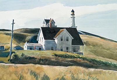 Hill And House, Cape Elizabeth, Maine; 1927