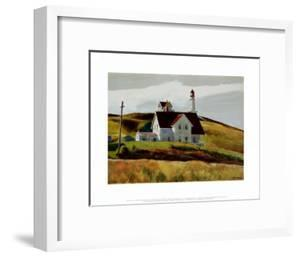 Hill and Houses Cape Elizabeth Maine by Edward Hopper