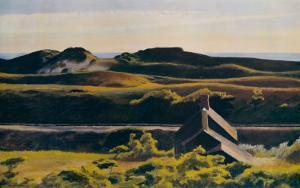 Hills, South Truro, 1930 by Edward Hopper