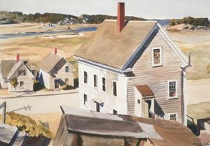 House By 'squam River, Gloucester (cape Ann, Massachusetts), 1926 by Edward Hopper