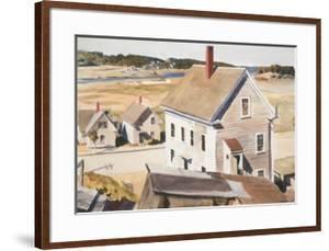 House By 'squam River, Gloucester (cape Ann, Massachusetts), 1926 by Edward Hopper