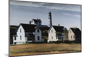 Lighthouse Hill, Cape Elizabeth, Maine by Edward Hopper