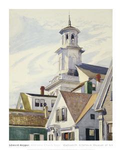 Methodist Church Tower, 1930 by Edward Hopper