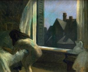 Moonlight Interior by Edward Hopper