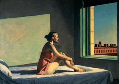 Morgensonne, c.1952 by Edward Hopper