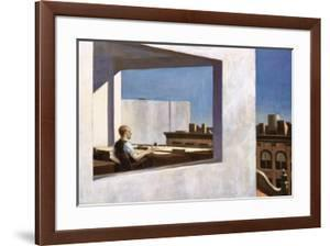 Office in a Small City, 1953 by Edward Hopper