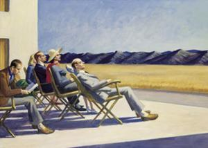 People in the Sun by Edward Hopper