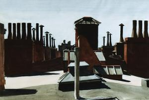 Roofs of Washington Square by Edward Hopper