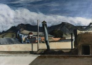 Saltillo Rooftops by Edward Hopper