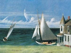 The Lee Shore by Edward Hopper