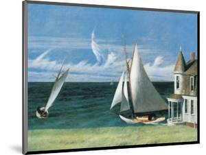 The Lee Shore by Edward Hopper