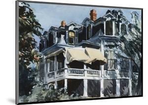 The Mansard Roof by Edward Hopper