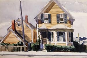 The Yellow House, 1923 by Edward Hopper