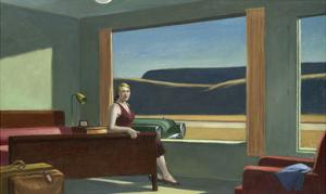 Western Motel, 1957 by Edward Hopper