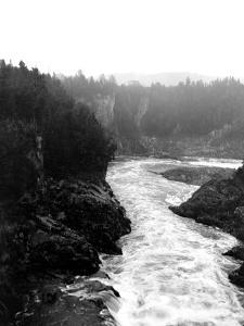 Grand Falls, Canada, 1917 by Edward Hungerford