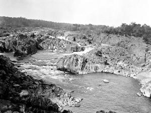 The Great Falls of the Potomac in Virginia by Edward Hungerford