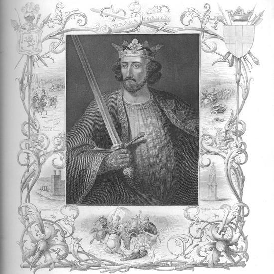 'Edward I', 1859-Unknown-Giclee Print