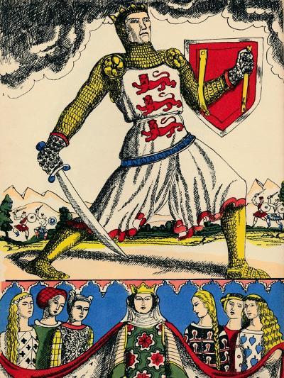 Edward I, King of England from 1272, (1932)-Rosalind Thornycroft-Giclee Print