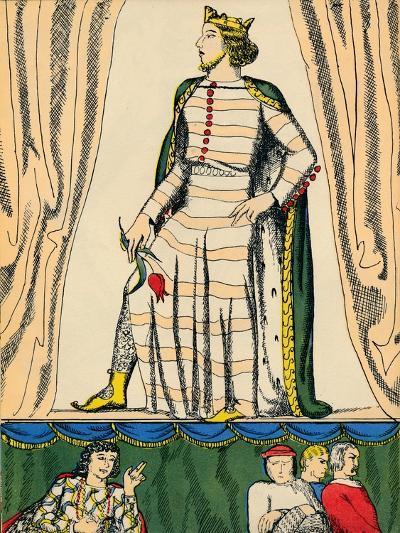 Edward II, King of England from 1307, (1932)-Rosalind Thornycroft-Giclee Print