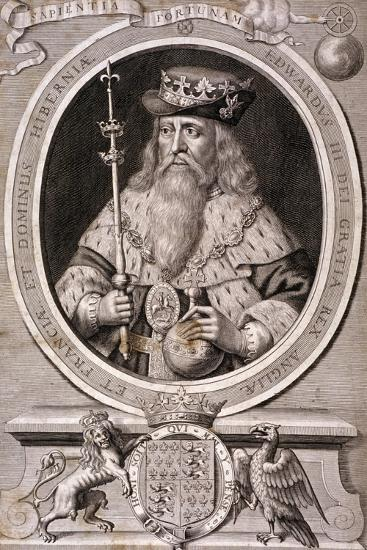 Edward III, King of England, C1370--Giclee Print