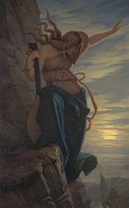 Loreley, 1864 by Edward Jakob Von Steinle