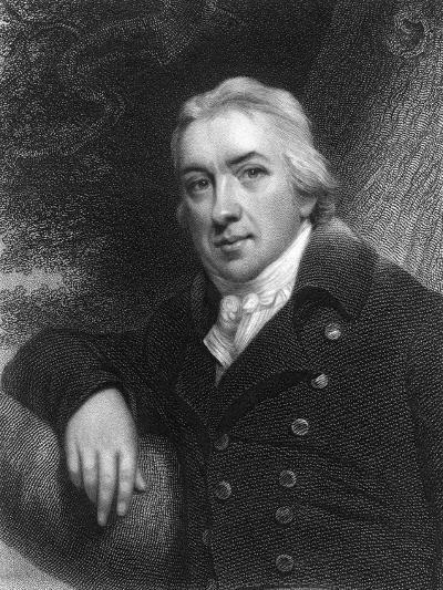 Edward Jenner, English Physician, 1837--Giclee Print