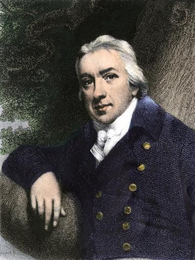 Edward Jenner, Who Discovered Vaccination in 1798--Giclee Print