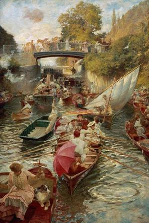 Boulter's Lock: Sunday Afternoon, 1885-97