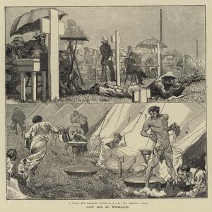 Camp Life at Wimbledon by Edward John Gregory